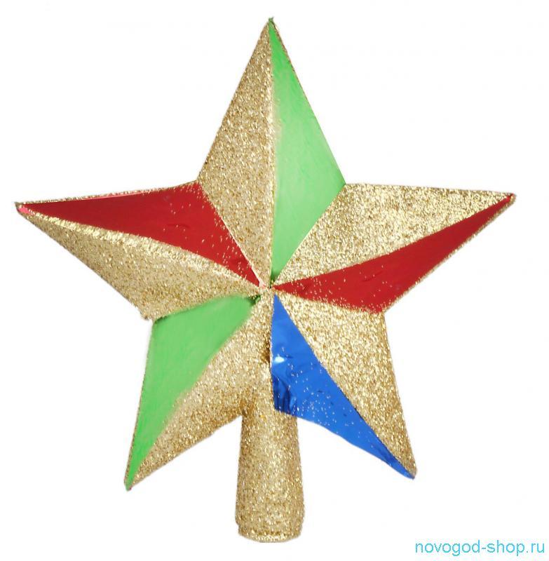 Игрушки  на елку звезда 125